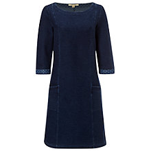 Buy White Stuff Kinley Jersey Dress, Denim Online at johnlewis.com