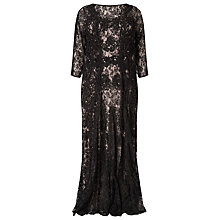 Buy Studio 8 Cara Lace Maxi Dress, Black Online at johnlewis.com