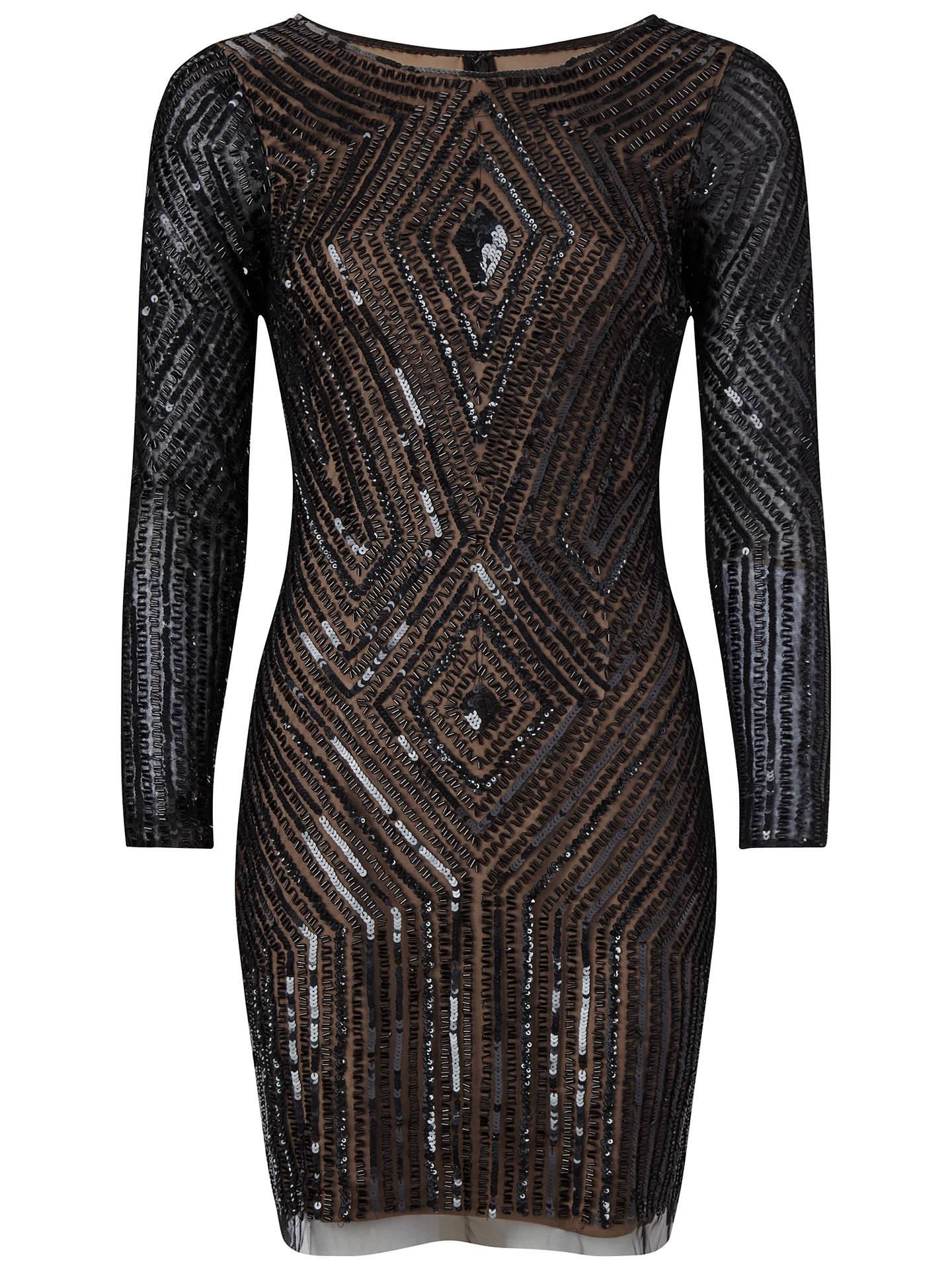 35ce014772 Adrianna Papell Diamond Beaded Cocktail Dress
