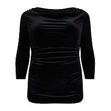 Buy Studio 8 Vevet Sophia Top, Black Online at johnlewis.com