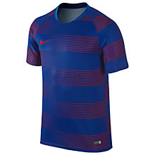 Buy Nike Flash Graphic Football Short Sleeve Shirt Online at johnlewis.com