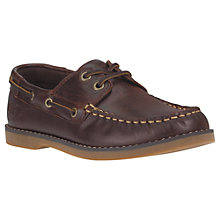 Buy Timberland Children's Seabury Classic Boat Shoes, Dark Brown Online at johnlewis.com