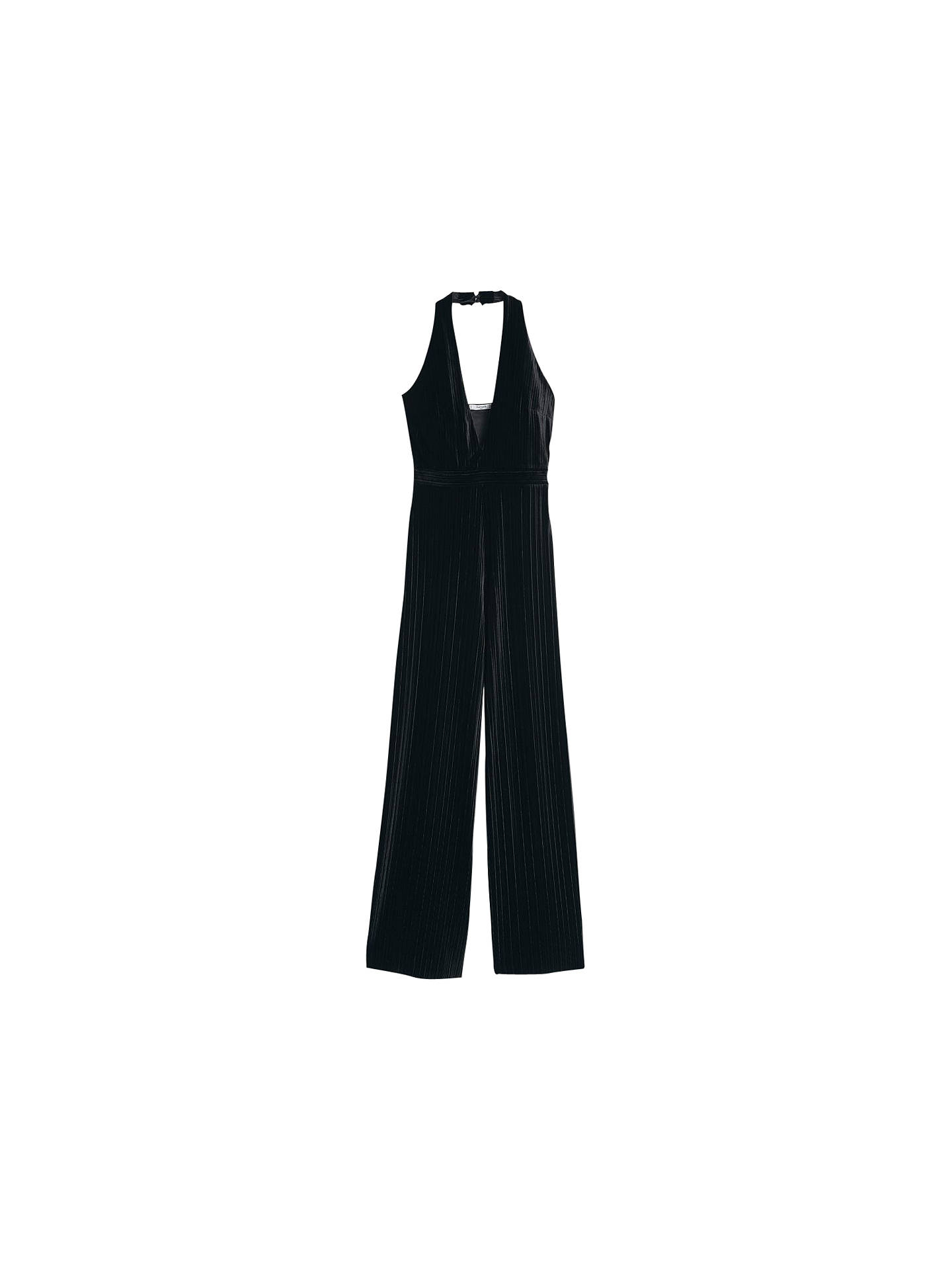 e96ec76b454 Buy Mango Velvet Palazzo Jumpsuit