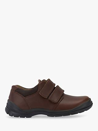 Start-Rite Engineer Leather School Shoes, Brown
