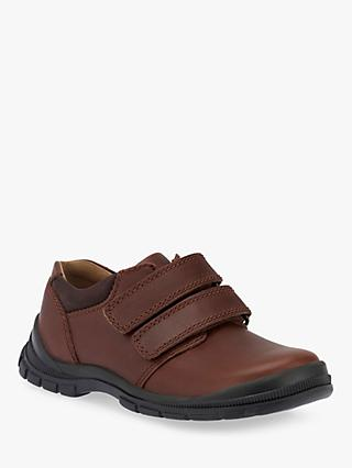 Start-rite Children's Engineer Leather Shoes, Brown