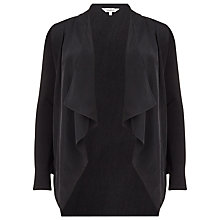 Buy Studio 8 Jocelyn Waterfall Jacket, Black Online at johnlewis.com