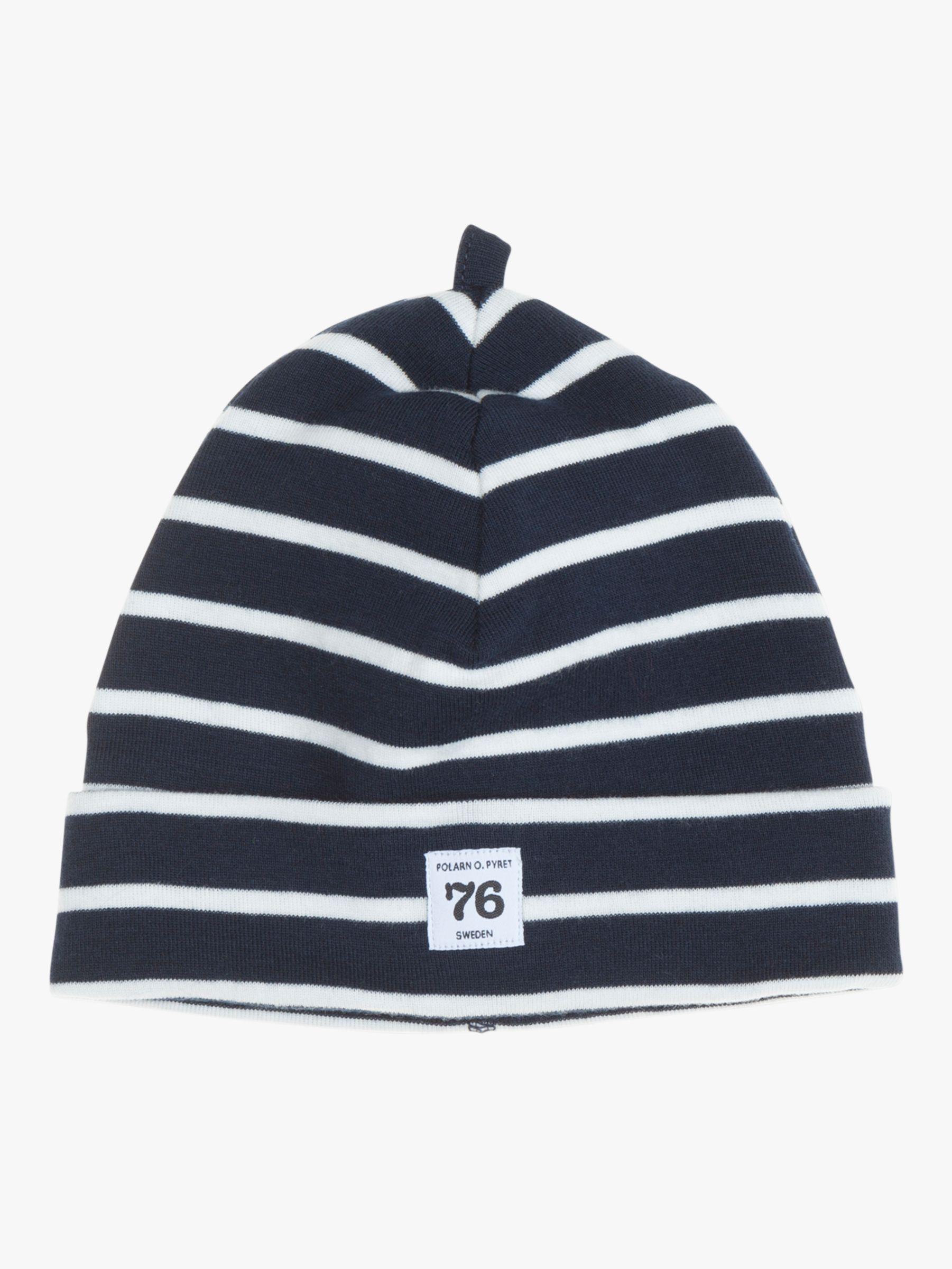 Polarn O. Pyret Polarn O. Pyret Baby GOTS Organic Cotton Stripe Beanie Hat
