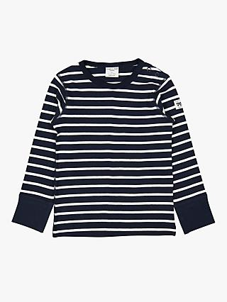 Polarn O. Pyret Baby GOTS Organic Cotton Stripe Top