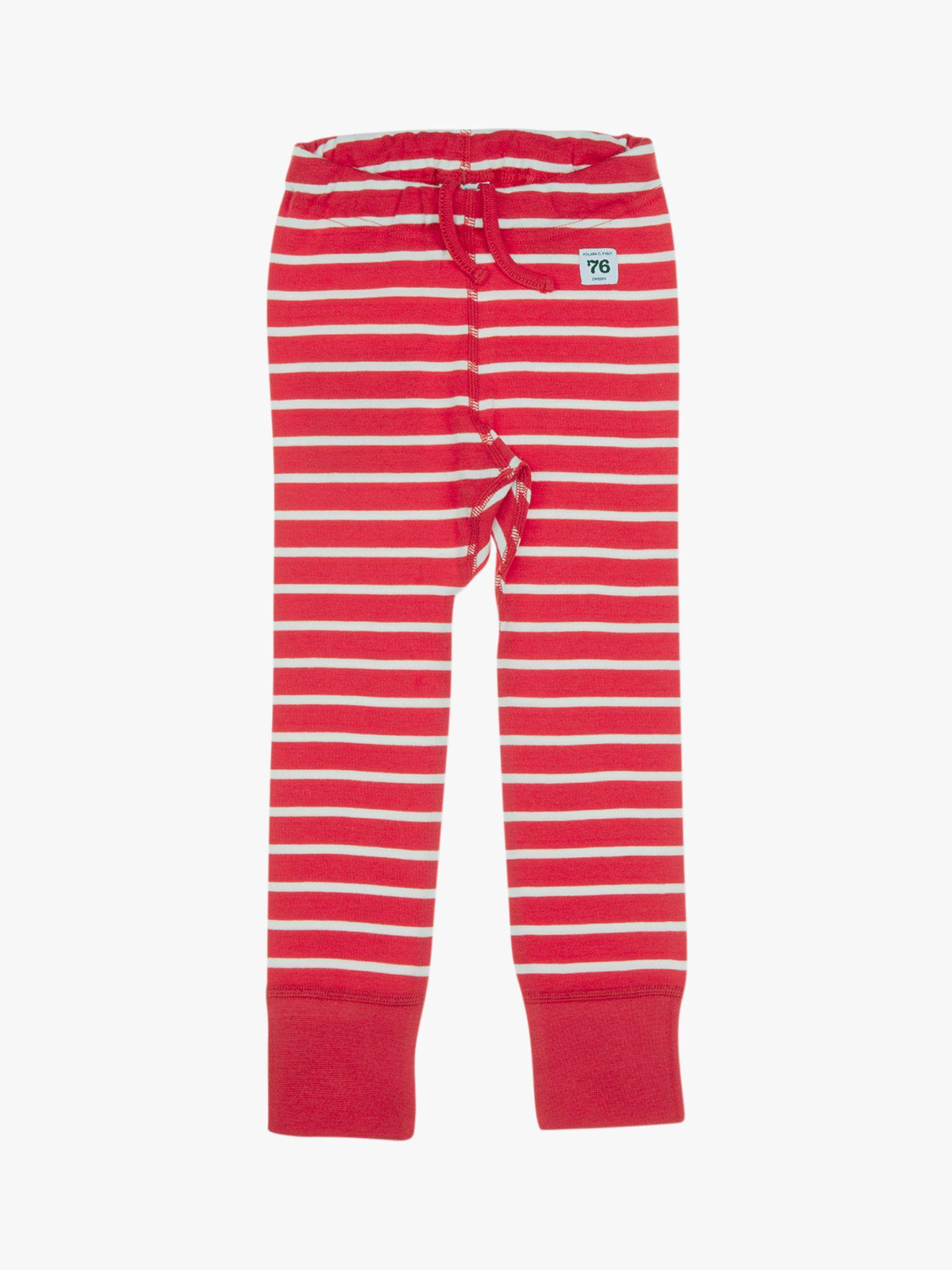 Polarn O. Pyret Polarn O. Pyret Children's GOTS Organic Cotton Stripe Leggings