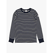 Buy Polarn O. Pyret Children's Stripe Long Sleeve Top Online at johnlewis.com