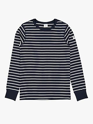 Polarn O. Pyret Children's Stripe Long Sleeve Top