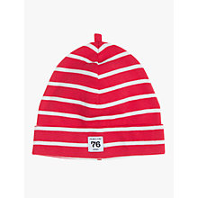 Buy Polarn O. Pyret Baby Stripe Beanie Hat Online at johnlewis.com