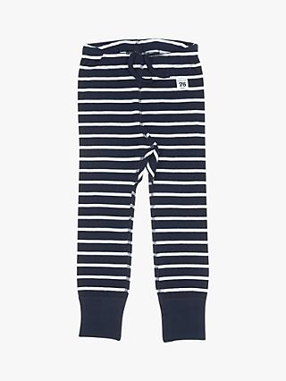 Polarn O. Pyret Children's GOTS Organic Cotton Stripe Leggings