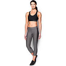 Buy Under Armour Mid Sports Bra, Black Online at johnlewis.com