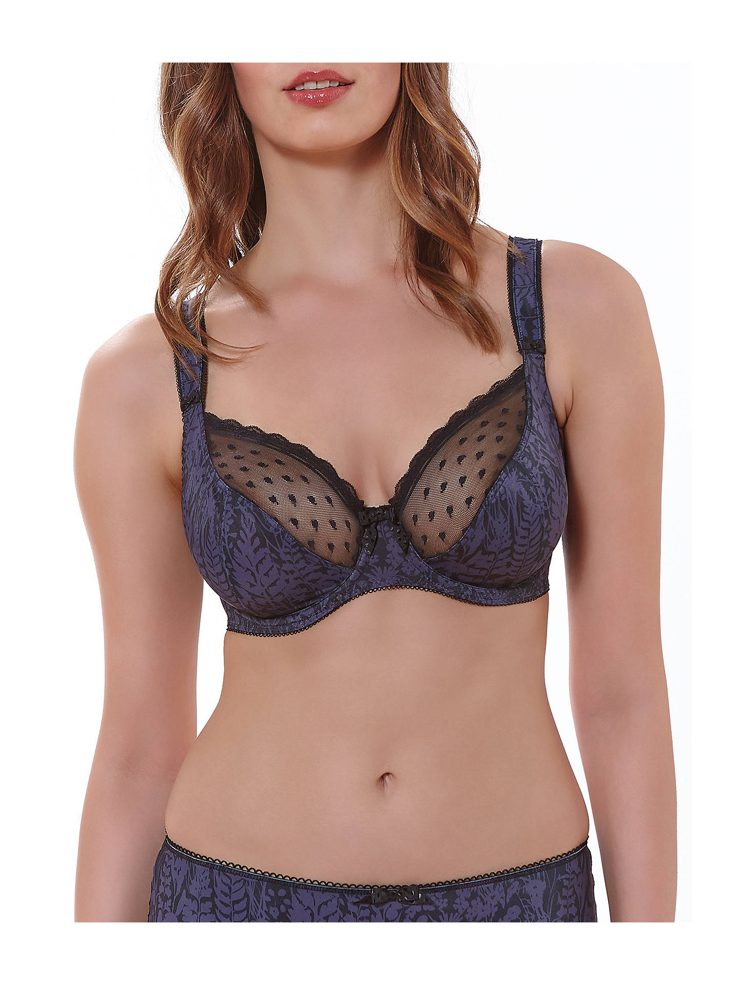 90709b720a Freya Fearne Plunge Underwired Balcony Bra at John Lewis   Partners