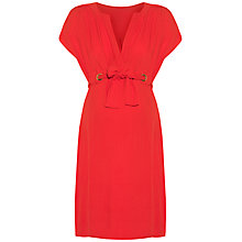 Buy Séraphine Camden Maternity Dress, Coral Online at johnlewis.com