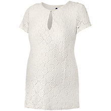 Buy Séraphine Agnes Lace Maternity Nursing Top, Ivory Online at johnlewis.com