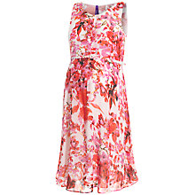 Buy Séraphine Everyly Floral Print Maternity Dress, Pink/Red Online at johnlewis.com