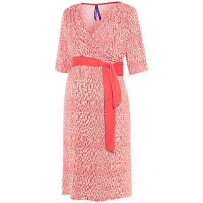 Séraphine Callie Maternity Nursing Dress, Coral