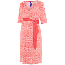Buy Séraphine Callie Maternity Nursing Dress, Coral Online at johnlewis.com