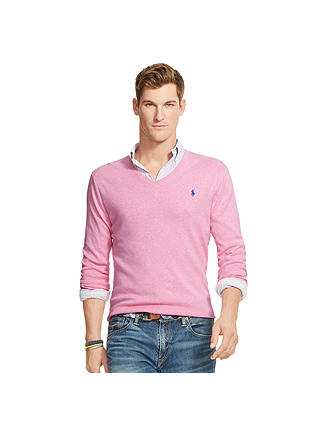 Neck Sweater size Large Pima Cotton Polo Ralph Lauren Men/'s New V