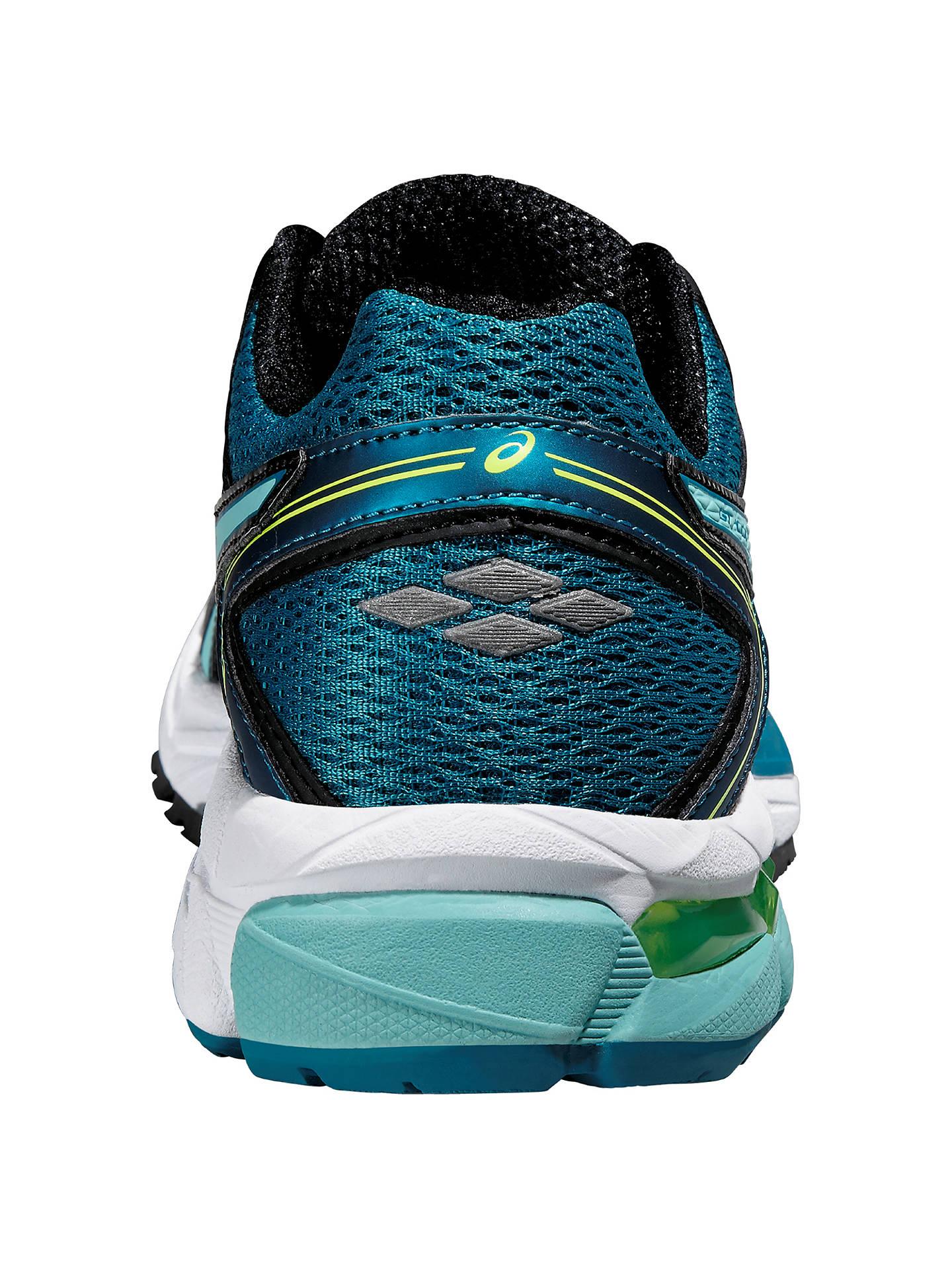 Doctrina Chimenea quemado  Asics GT-1000 4 Women's Structured Running Shoes, Black/Blue at John Lewis  & Partners