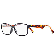 Buy Magnif Eyes Unisex Ready Readers Olympia Glasses, Tortoise Online at johnlewis.com