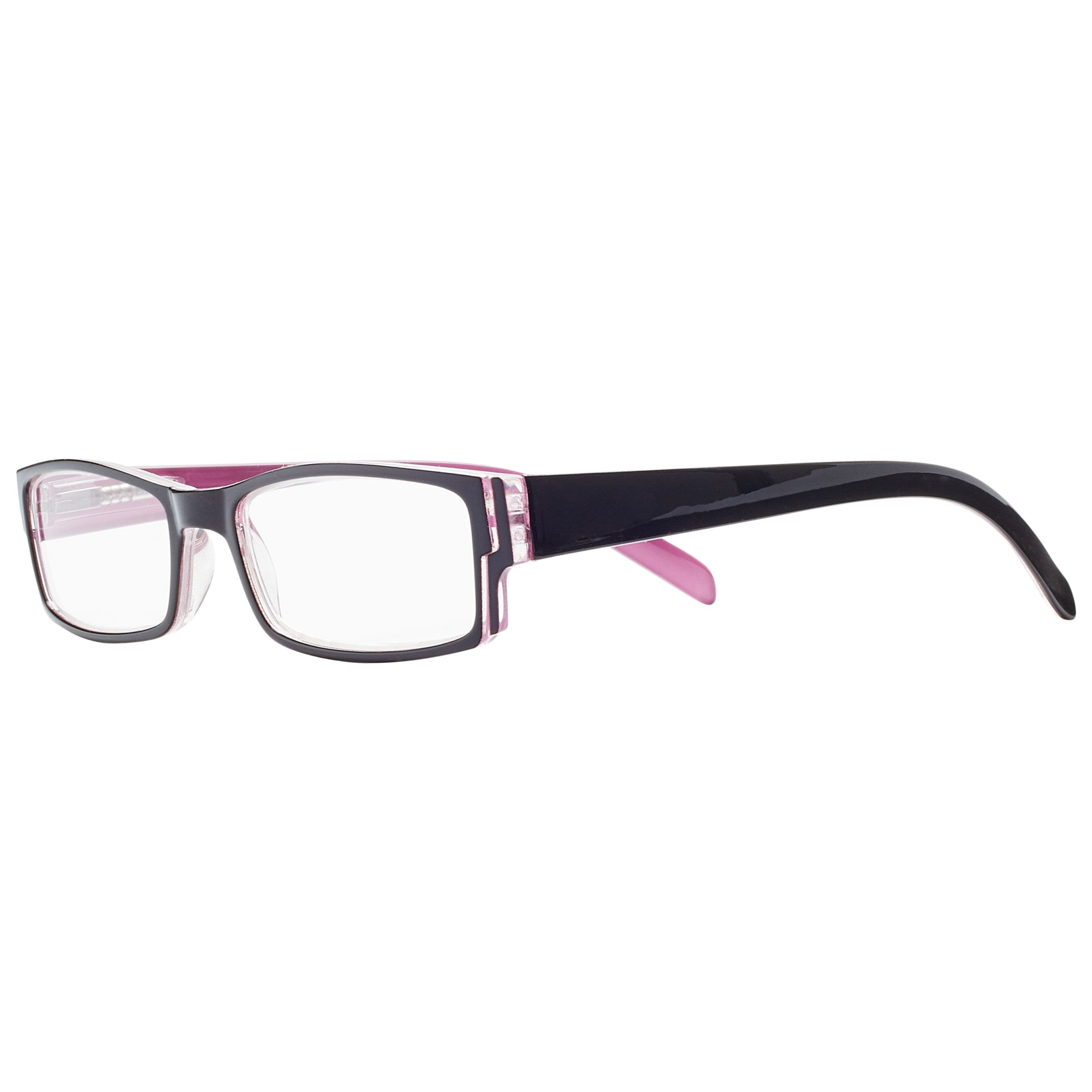 Magnif Eyes Magnif Eyes Ready Readers Carmel Glasses, Black/Rose