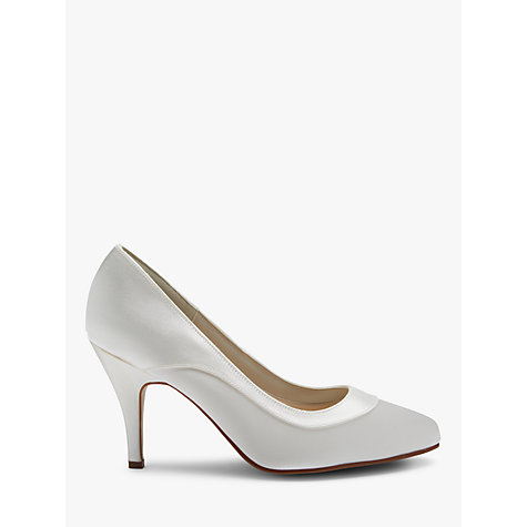 Extra Wide Ivory Wedding Shoes