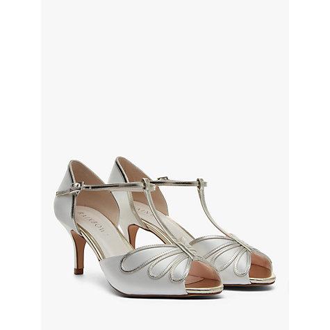 T Bar Bridal Shoes Uk