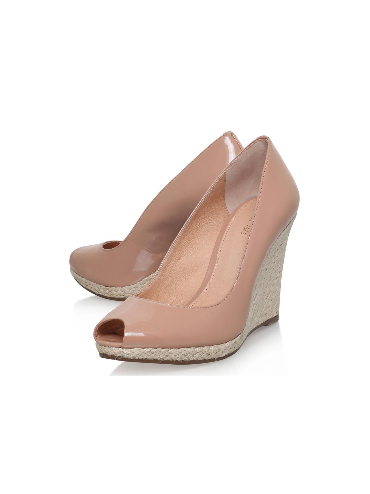 3af5c18bdd6 ... Buy Michael Michael Kors Keegan Peep Toe Wedge Heeled Sandals