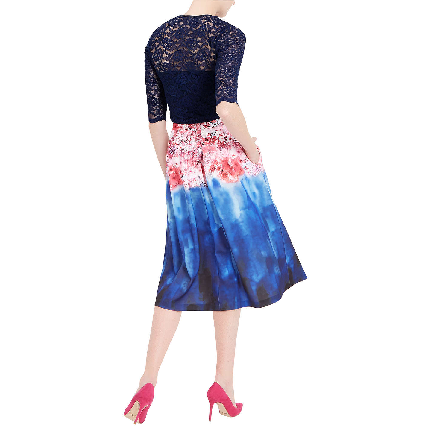 BuyDamsel in a dress Cherry Bloom Skirt, Print, 8 Online at johnlewis.com