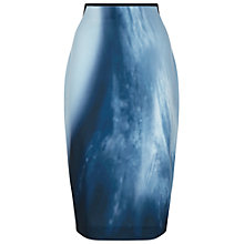 Buy Damsel in a dress Wave Pencil Skirt, Blue Online at johnlewis.com
