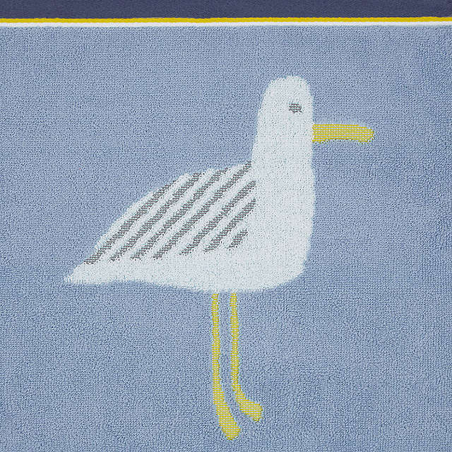 BuyJohn Lewis Cheeky Gull Face Cloth, Pacific Online at johnlewis.com