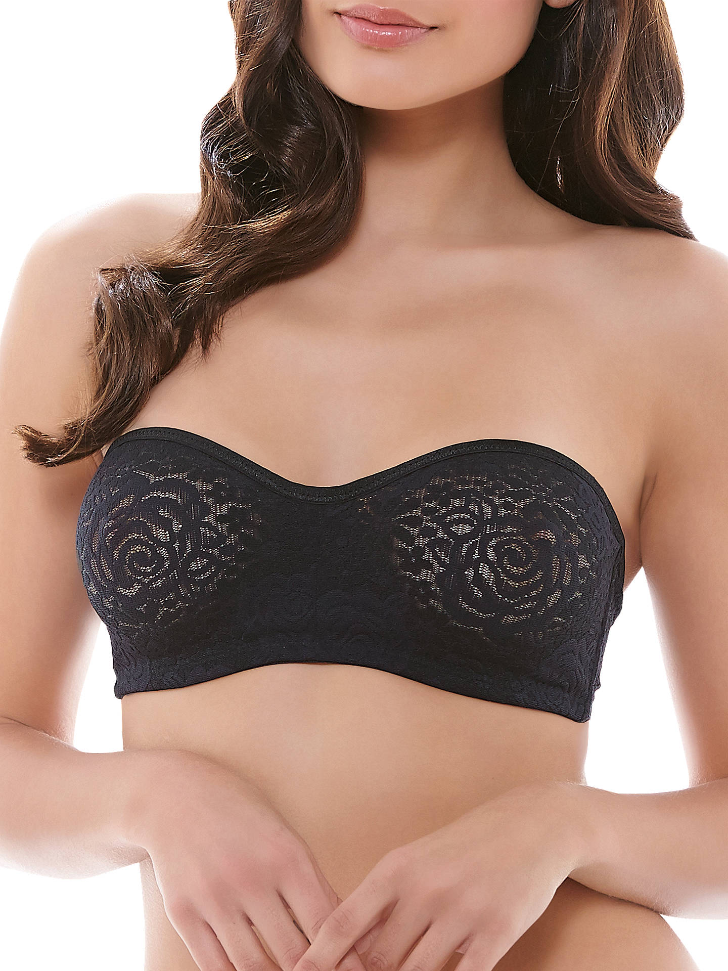 89ff7320d7e Wacoal Halo Lace Moulded Strapless Bra at John Lewis   Partners