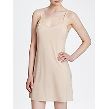 Buy John Lewis Microfibre Plain Knee Length Slip Online at johnlewis.com