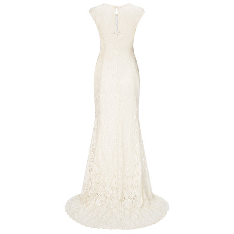 Buy Phase Eight Bridal Giovanna Embellished Wedding Dress, Pearl Online at johnlewis.com