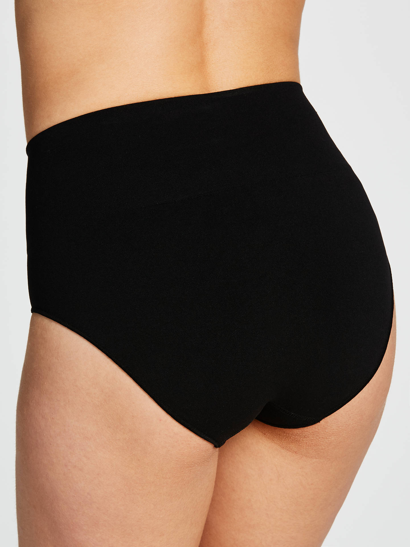 Buy John Lewis & Partners Everyday Seamfree Shaping Briefs, Black, 8-10 Online at johnlewis.com