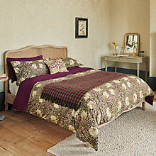 Buy Morris & Co Pimpernel Cotton Bedding Online at johnlewis.com