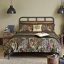 Buy Morris & Co Seaweed Cotton Bedding Online at johnlewis.com
