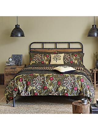 Morris & Co. Seaweed Cotton Bedding