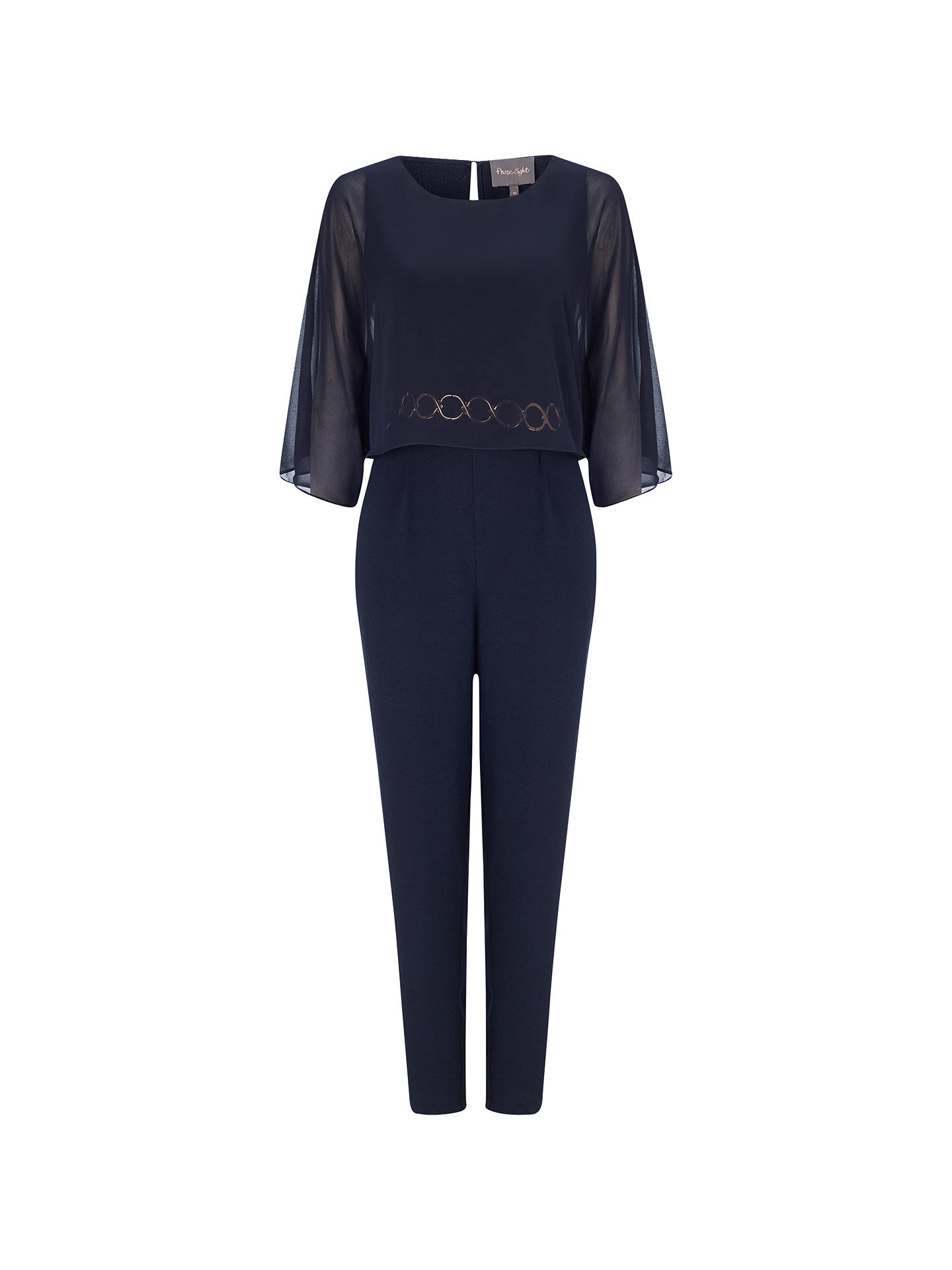 d2624a30 Buy Phase Eight Janessa Jumpsuit, Navy, 6 Online at johnlewis.com