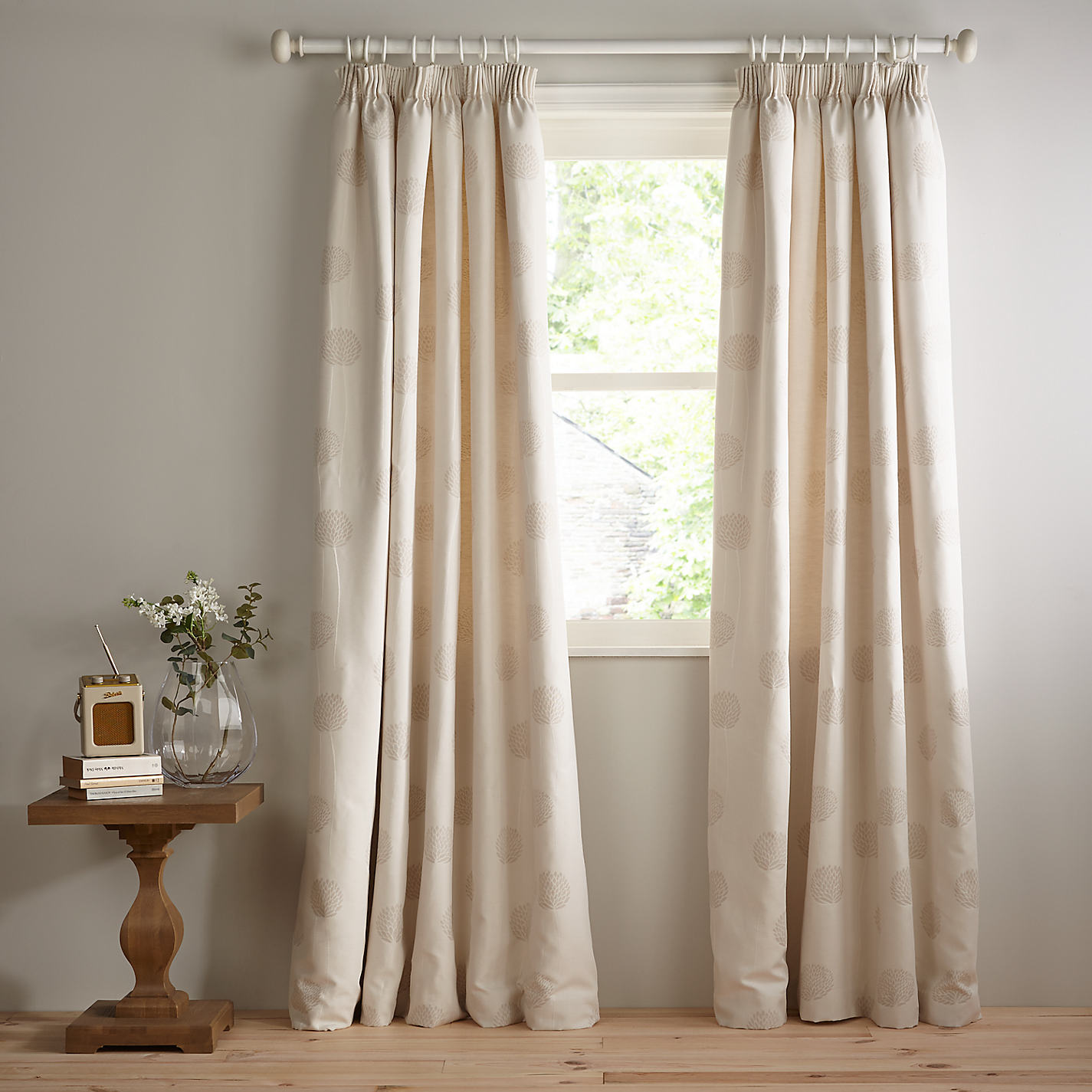 Buy John Lewis Nadia Linen Lined Pencil Pleat Curtains Online At Johnlewis