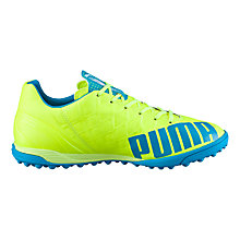 Buy Puma evoSPEED 4.4 Turf Boots, Yellow Online at johnlewis.com
