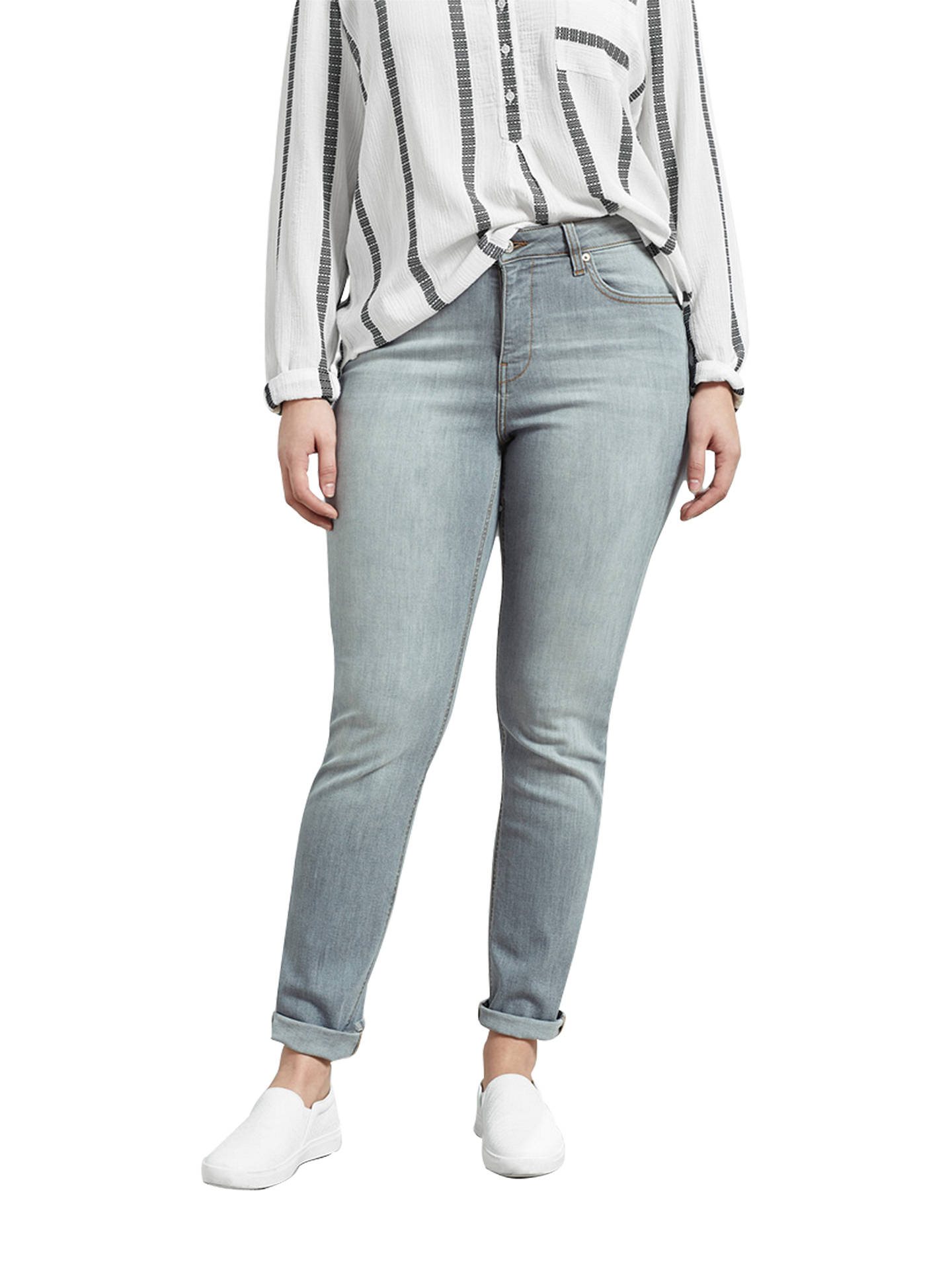 f6d9b90647f Violeta by Mango Straight Theresa Jeans at John Lewis   Partners