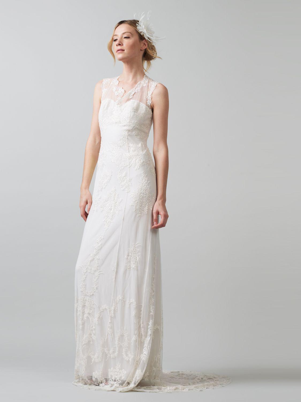 Buy Phase Eight Bridal Oriana Wedding Dress Ivory John Lewis
