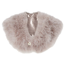 Buy Phase Eight Attarah Feather Cape, Mink Online at johnlewis.com
