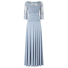 Buy Phase Eight Romily Lace Dress, Dusty Blue Online at johnlewis.com