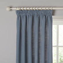 Buy John Lewis Linen Blend Lined Pencil Pleat Curtains Online at johnlewis.com