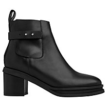 Buy Whistles Hadd Block Heeled Ankle Boots Online at johnlewis.com